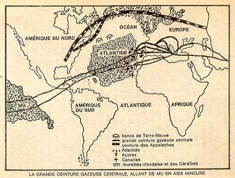 La civilisation des Mégalithes et l'Atlantide.