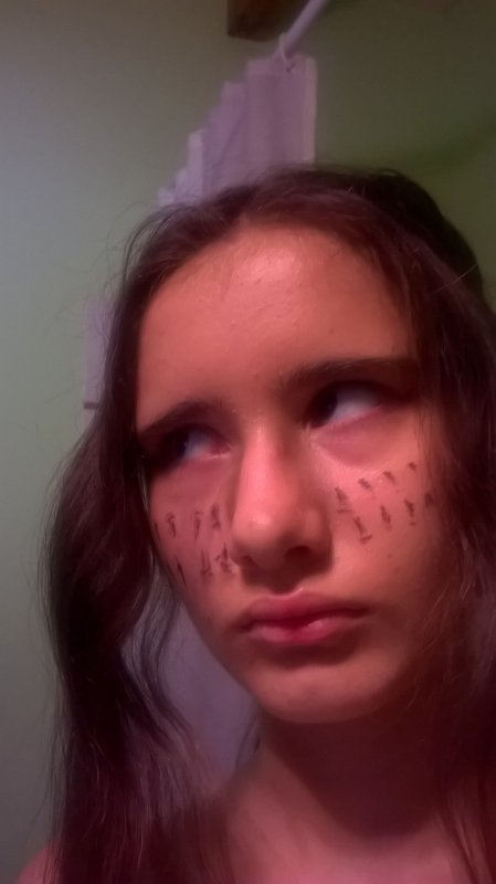 Ymir(Attaque des Titans)makeup(j'ai pas l'équipement de manoeuvre tridimensionnelle,gomen !😣😆)