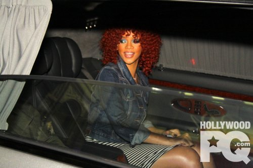 Drake New : New  Rihanna et Drake allant a l'hotel .