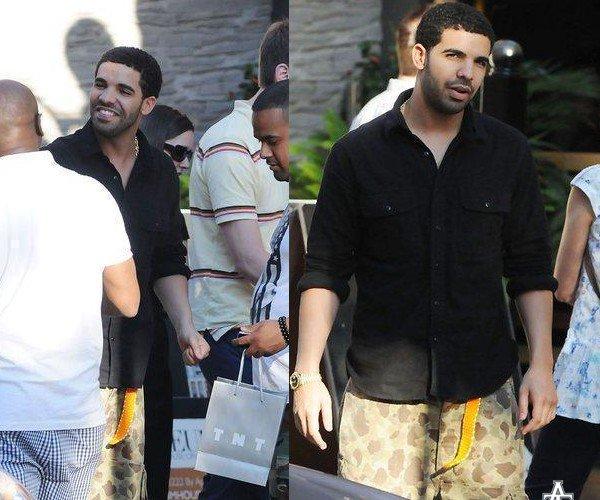 Drake allant dinner dans le restaurant : Yorkville a Toronto