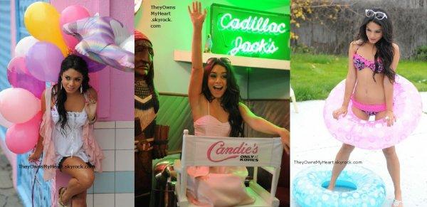 Vanessa Hudgens: PHOTOSHOOT: Super Jolie, sublime, originale, sexy, cool... du Vanessa quoi,  pour la marque Candie's