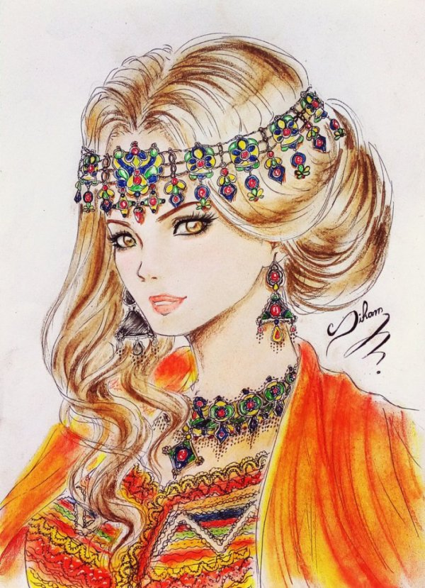by Siham bouyerbou (kabyle)