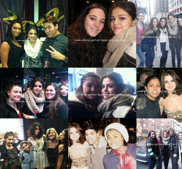 Selena pour mtv au nouvel an. Comment tu la trouve ?