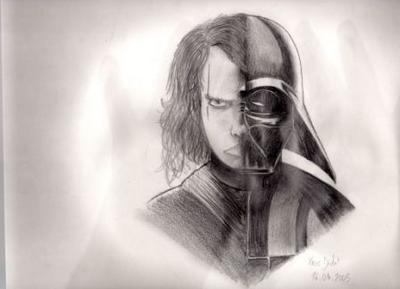Anakin Skywalkerdark Vador Par Xavier Dessins Et Moi En