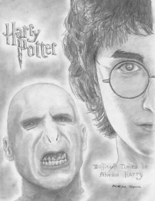 Harry vs. Voldemort - dessins et moi en folie