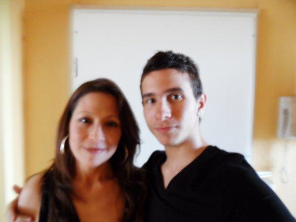 me and mo mom :o