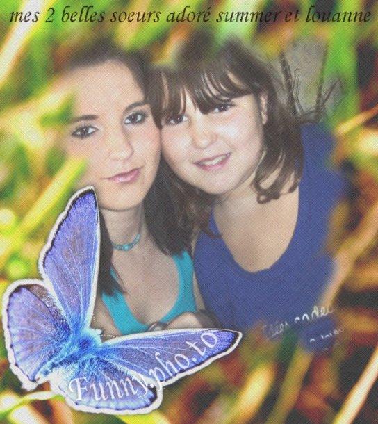 mes deux belles soeurs adoré summer et louanne