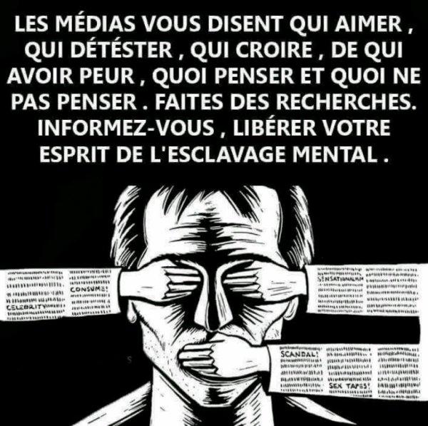 Les médias.