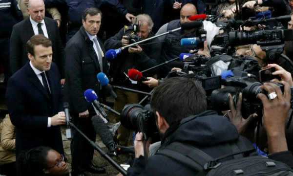 Les journalistes.