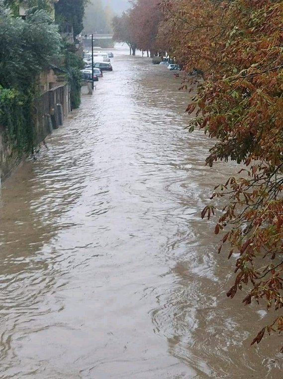 Les inondations.