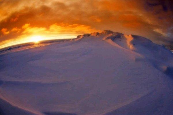 L'Antarctique.
