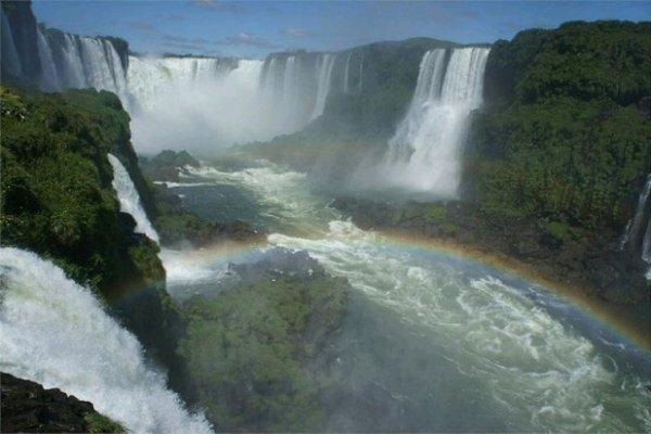 L'Amérique du Sud.