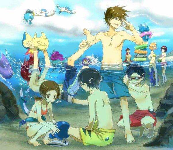 À la plage 1