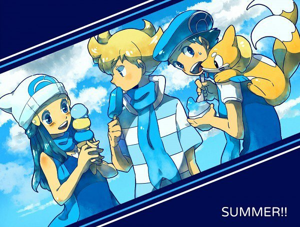 L'été chez pokemon