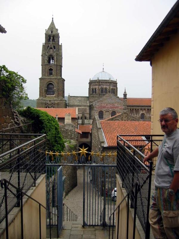 Le Puy-en-Velay . La Cathédrale.