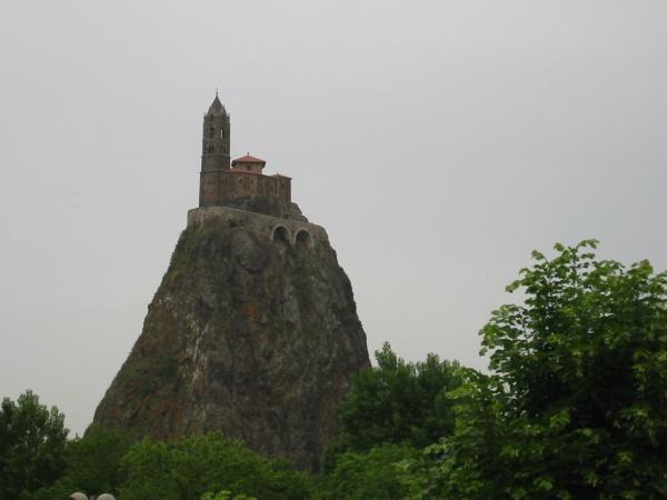 Le Puy en- Velay . Saint-Michel-d'Aiguilhe