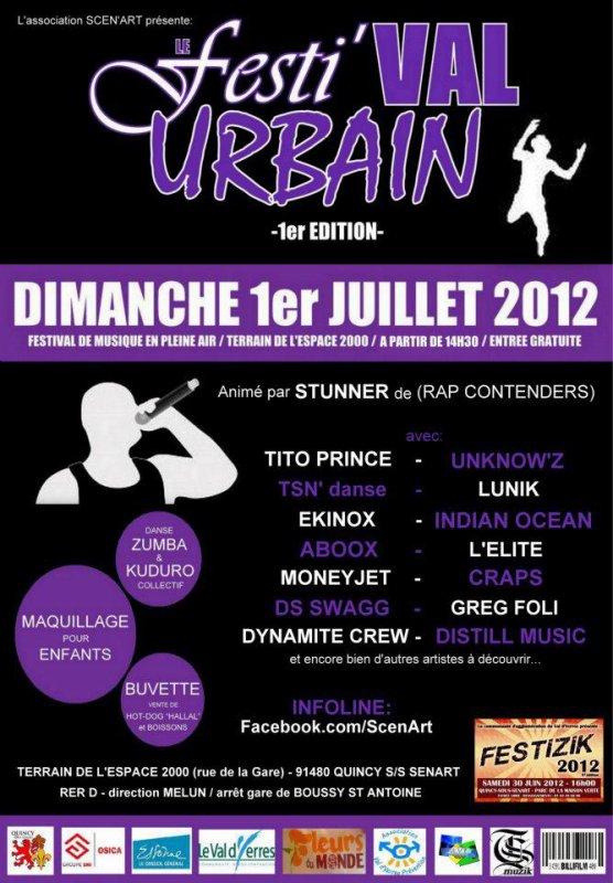Festi'VAL URBAIN 2012!!
