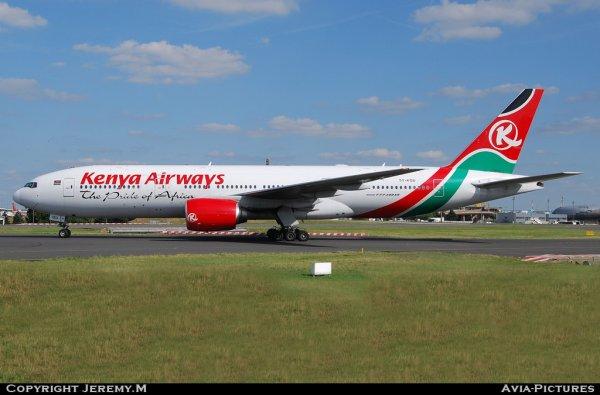 5Y-KQU  33681/479  B777-2U8/ER  Kenya Airways