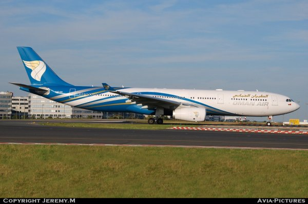 A4O-DD 1063 A330-343E Oman Air