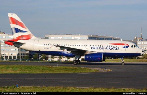 G-EUPX 1445 A319-131 British Airways