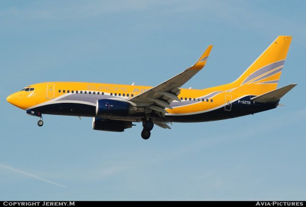 F-GZTD 32418/1300 B737-73V Europe Airpost