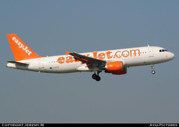 G-EZTV 4234 A320-214 Easyjet