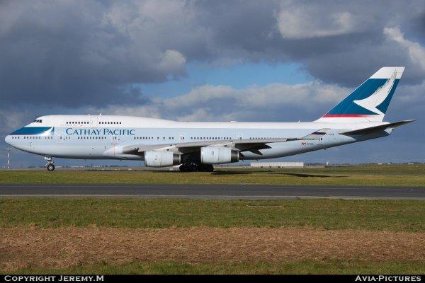B-HUB 25873/937 B747-467 Cathay Pacific