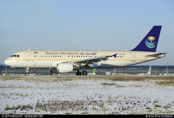 HZ-ASE 4408 A320-214 Saudi Arabian