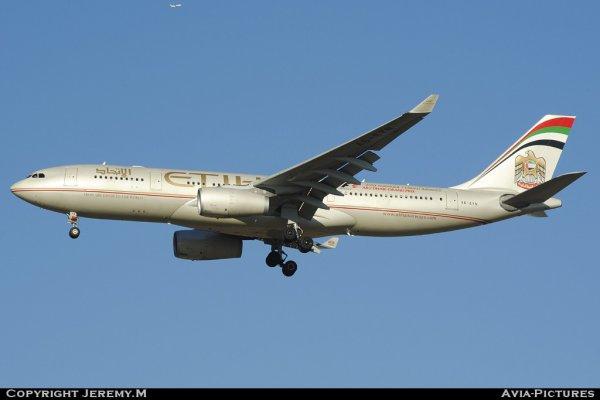 A6-EYN 832 A330-243 Etihad