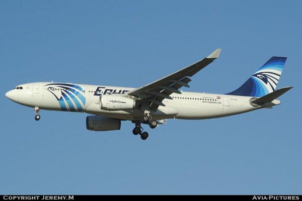 SU-GCF 610 A330-243 Egyptair