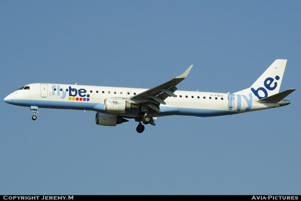G-FBEC 19000069 EMB195LR FlyBe