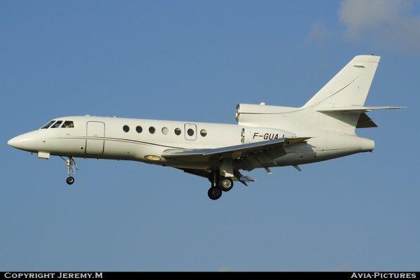 F-GUAJ 169  Falcon 50  Untilted