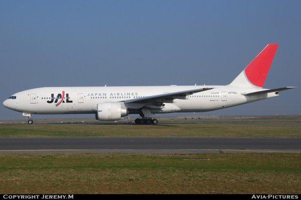 JA709J  32896/489  B777-246/ER JAL