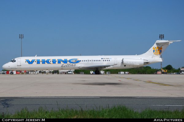 SX-SMS 49631/1596 MD83 Viking Hellas