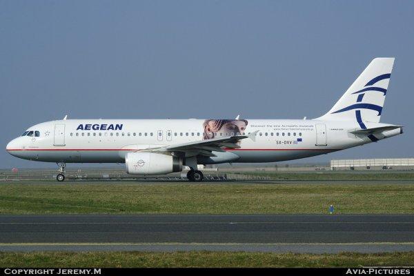SX-DVV 3773 A320-232 Aegean