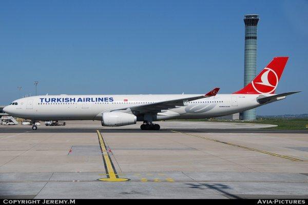 TC-JNK 1172 A330-343X Turkish