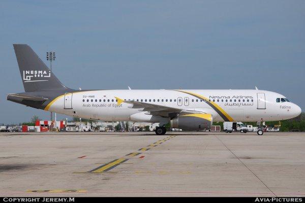 SU-NMB 1732 A320-232 Nesma Airlines