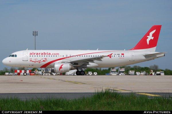 CN-NME 2166 A320-214 Air Arabia Maroc