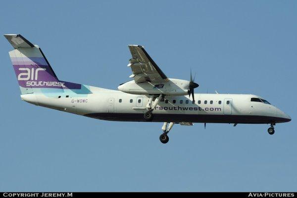 G-WOWC 311 Dash 8  Air Southwest