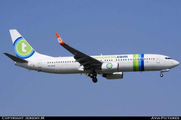 PH-GGW 35831/3165 B737-8EH Transavia