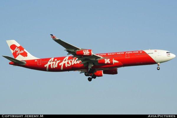 9M-XAB 273 A340-313X Air Asia X