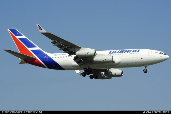 CU-T1250 74393202015 IL-96-300 Cubana
