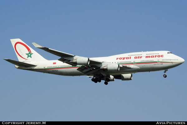 CN-RGA 25629/956 B747-428 Royal Air Maroc
