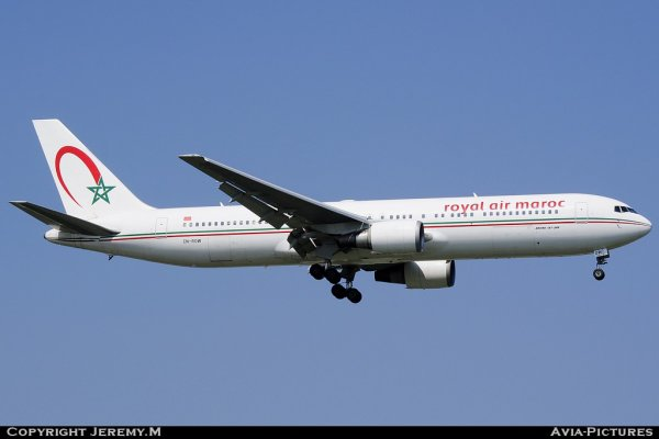 CN-ROW 30008/743 B767-343/ER Royal Air Maroc