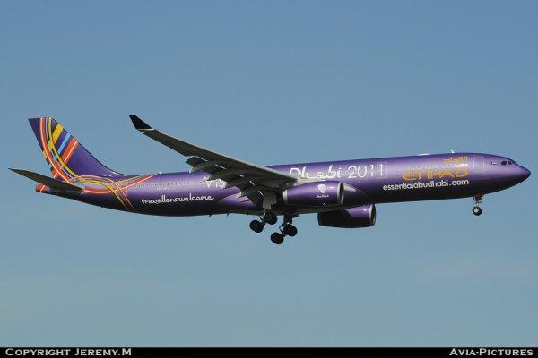 A6-AFA 1071 A330-343X Etihad