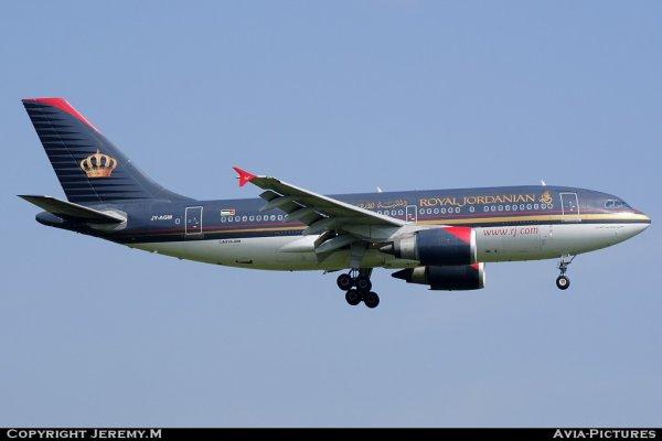 JY-AGM 491 A310-304 Royal Jordanian