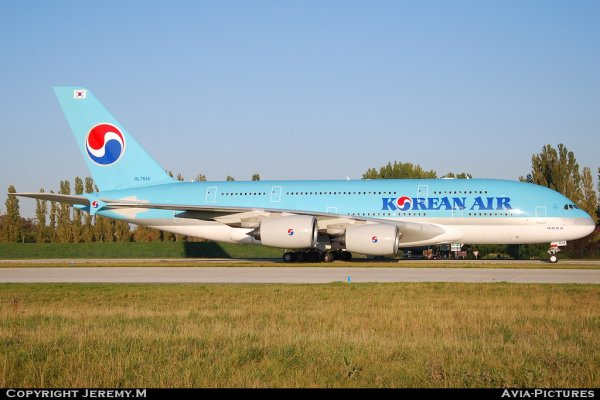 HL7614 068 A380-861 Korean Air