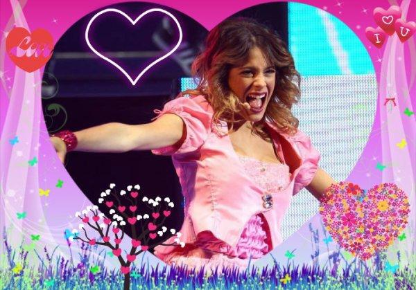 Aime,Remix,Commente ( Remix si tu aimes Violetta <3 )