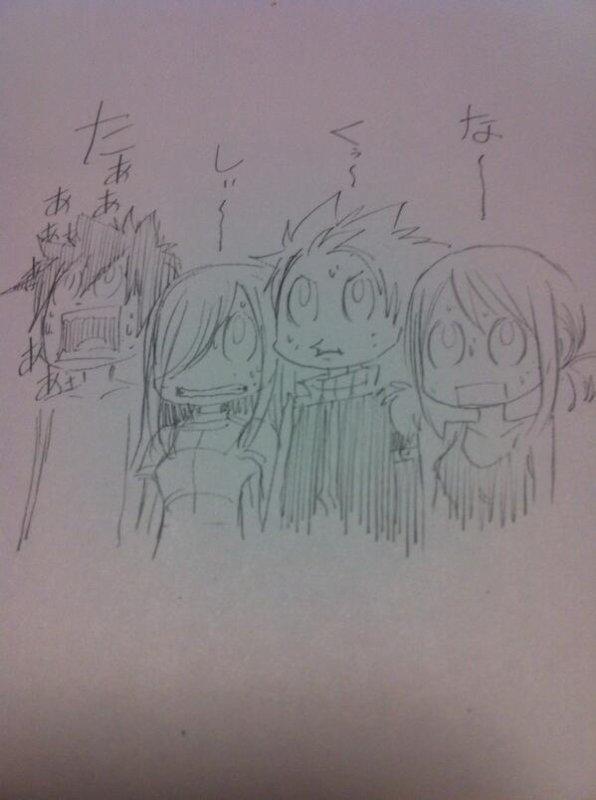 Dessin Hiro Mashima !