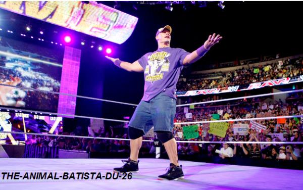 John Cena BLESSE !!